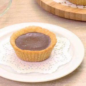 「生チョコクッキーカップ」のレシピ動画