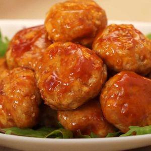 「お豆腐ミートボール」のレシピ動画