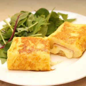 「ハムチーズロールフレンチトースト」のレシピ動画