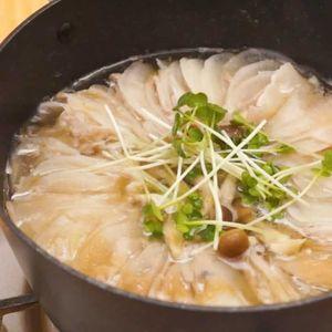 「大根ミルフィーユ鍋」のレシピ動画