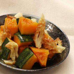 「かぼちゃのバター醤油煮」のレシピ動画