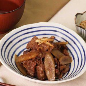 「牛ごぼうのしぐれ煮」のレシピ動画