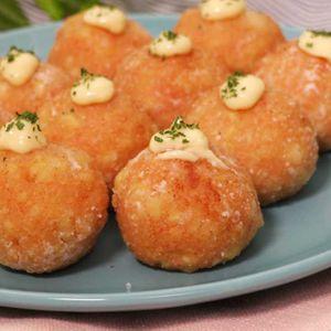 「豆腐の明太マヨチーズボール」のレシピ動画