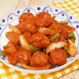 「甘辛ケチャップの豚こま肉団子」のレシピ動画