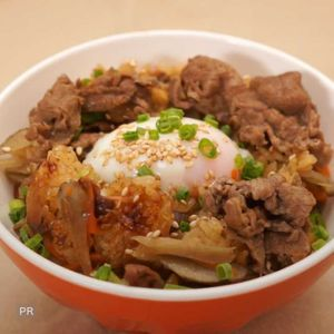 「すき焼き風炊き込みご飯」のレシピ動画
