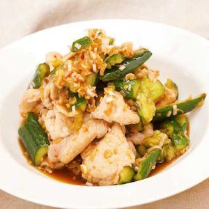 「豚しゃぶときゅうりの中華サラダ」のレシピ動画