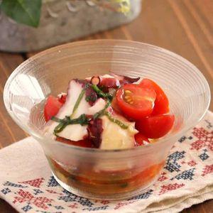 「タコとトマトのマリネ」のレシピ動画