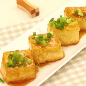 「豆腐の照り焼きステーキ」のレシピ動画