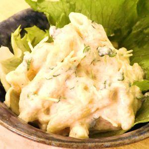 「豆腐と明太子のパスタサラダ」のレシピ動画