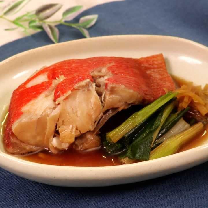 鯛 人気 金目 煮付け レシピ