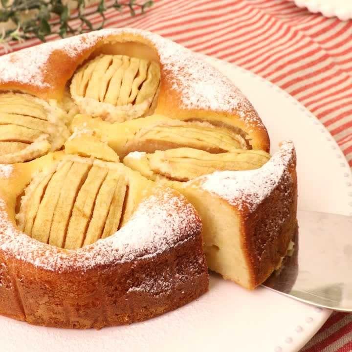 人気 りんご ケーキ レシピ