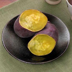 「レンジで焼き芋」のレシピ動画