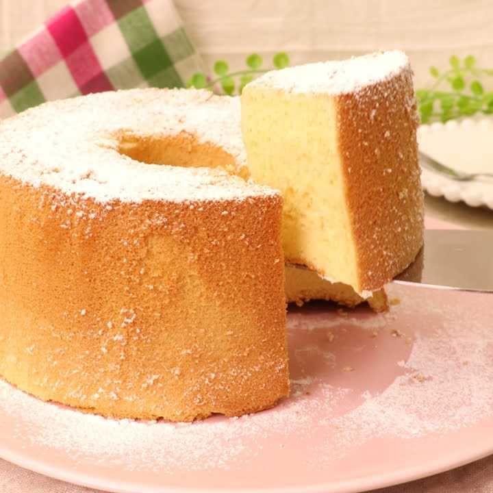 シフォン ケーキ 人気 レシピ