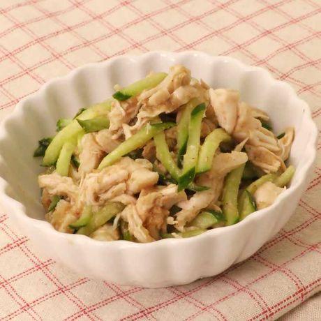 きゅうり ささみ 鶏ささみときゅうりの梅肉和え レシピ・作り方