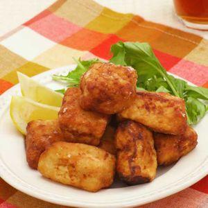 「冷凍豆腐の香味唐揚げ」のレシピ動画