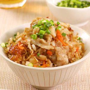 「豚バラえのきの炊き込みご飯」のレシピ動画