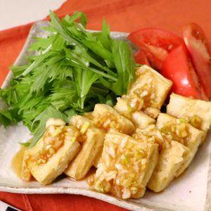 「豆腐の油淋鶏風ステーキ」のレシピ動画