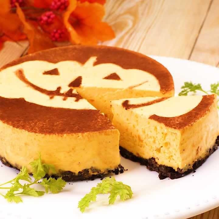 ケーキ かぼちゃ チーズ