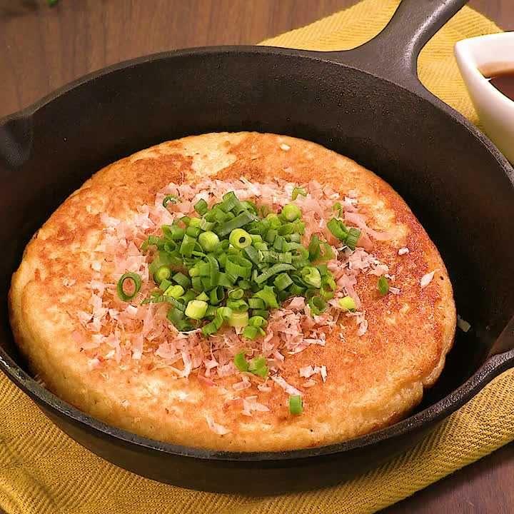 とろーり美味しい 山芋鉄板焼きのレシピ動画 作り方 Delish Kitchen