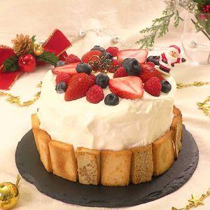 「かくれんぼケーキ」のレシピ動画