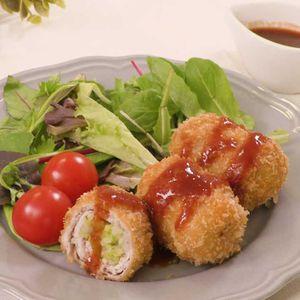 「白菜の豚肉ロールフライ」のレシピ動画