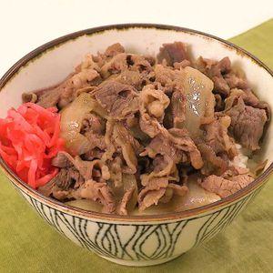 牛肉 丼 レシピ 人気