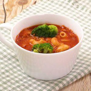「ツナトマトのスープパスタ」のレシピ動画