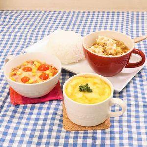 「マグカップ昼食3選」のレシピ動画