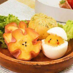 「お弁当活用!卵料理3選」のレシピ動画