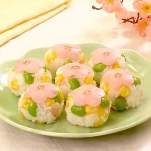 「お花の手まり寿司」のレシピ動画
