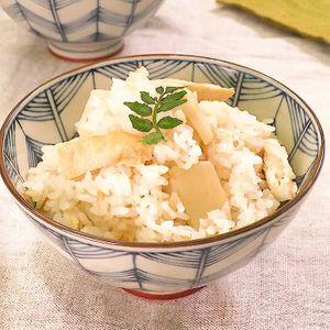 「基本の筍の炊き込みご飯」のレシピ動画