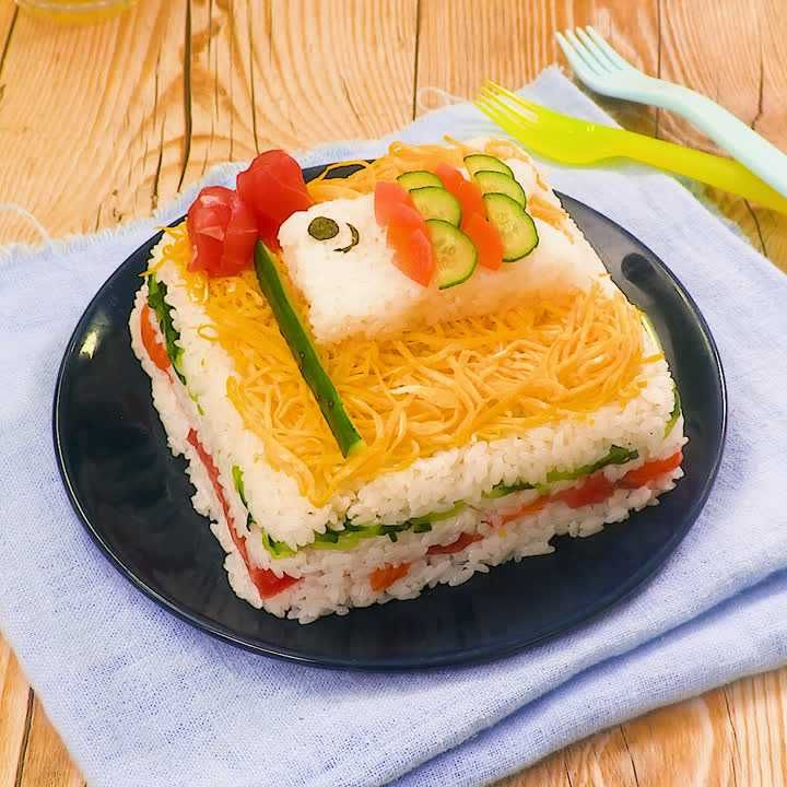 ちらし 寿司 鯉のぼり