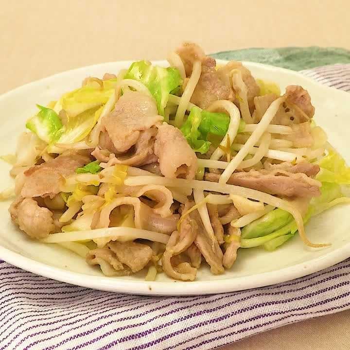 味噌 炒め キャベツ 豚肉