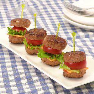 「ハンバーグミニバーガー」のレシピ動画