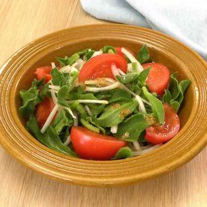 「アイスプラントのサラダ」のレシピ動画