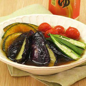 「夏野菜の揚げびたし」のレシピ動画