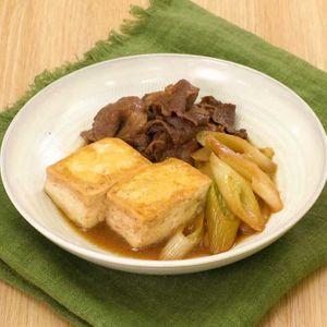 「基本の肉豆腐」のレシピ動画