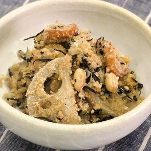 「おからと大豆の煮物」のレシピ動画