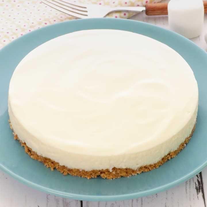 簡単 レアチーズ なし ケーキ ゼラチン