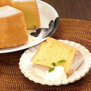 「お豆腐のシフォンケーキ」のレシピ動画