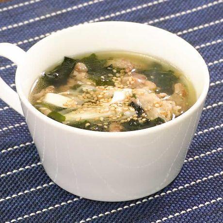 スープ レシピ わかめ 人気