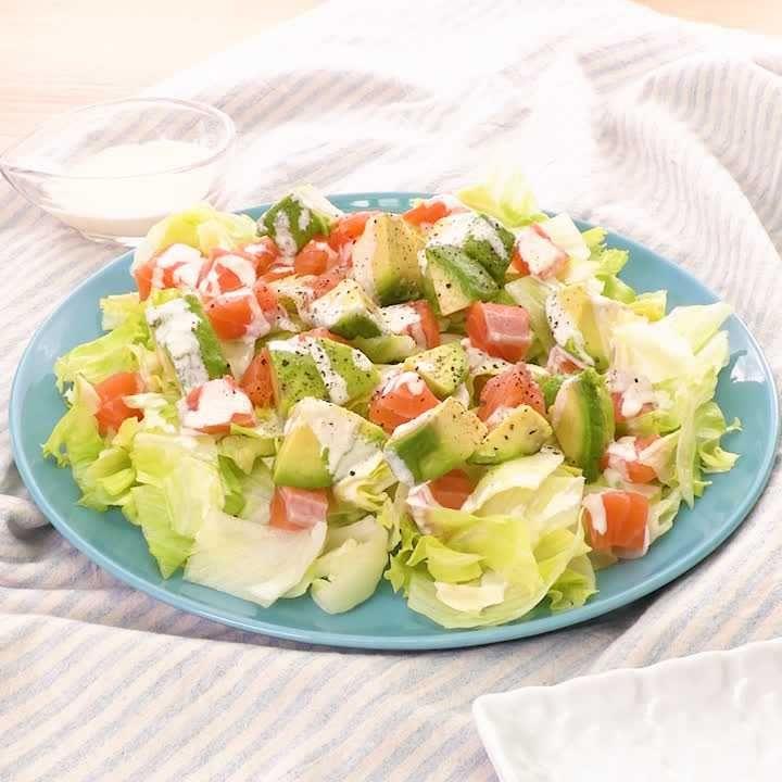 サラダ アボカド アボカドサラダのレシピ・作り方 【簡単人気ランキング】|楽天レシピ