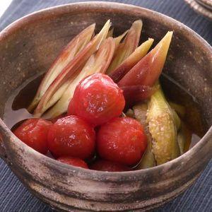 「彩り野菜のお浸し」のレシピ動画