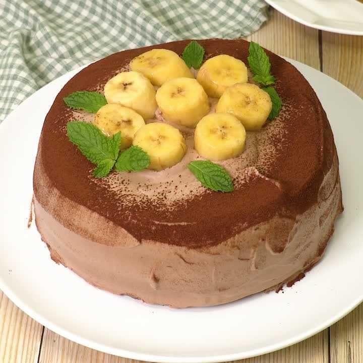 バナナ ケーキ チョコ