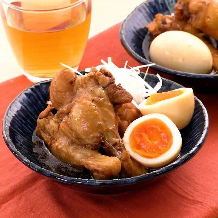 鶏肉 コーラ 煮