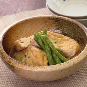 「がんもどきの白だし煮」のレシピ動画