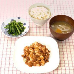 「麻婆豆腐のごはん」のレシピ動画