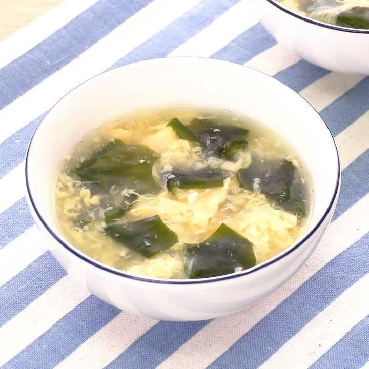 スープ 卵 中華