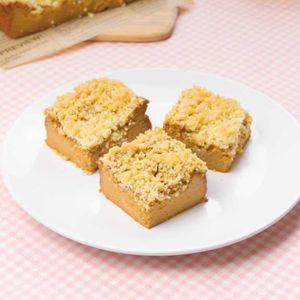 「キャラメルクランブルチーズケーキ」のレシピ動画