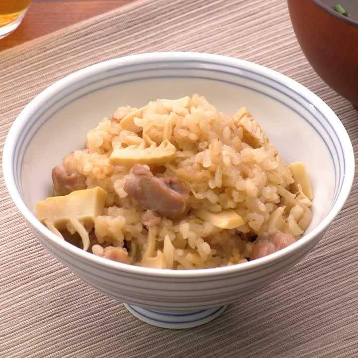 たけのこ ご飯 レシピ 3 合